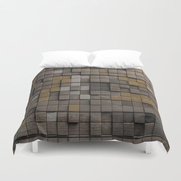 Wood pattern Duvet Cover