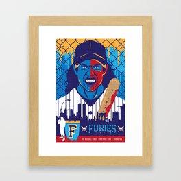 THE WARRIORS :: THE BASEBALL FURIES Framed Art Print