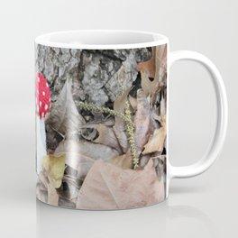 Knitted Fly Agaric Toadstool Coffee Mug