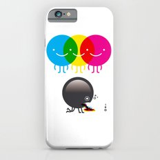 CMY makes K dizzy iPhone 6s Slim Case