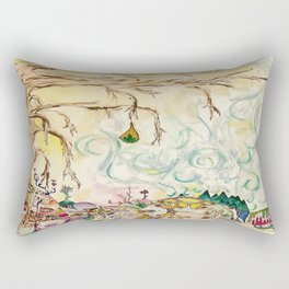 The fruit bearer Rectangular Pillow
