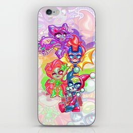 Chibi Gotham Girls iPhone Skin
