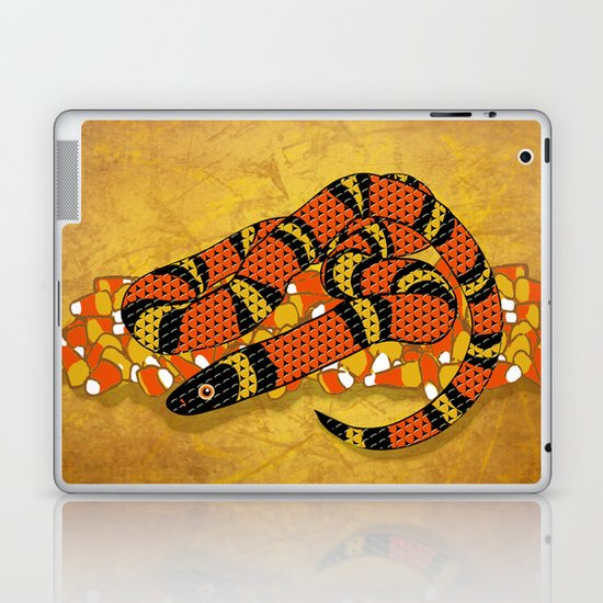 Mexican Candy Corn Snake Laptop & iPad Skin