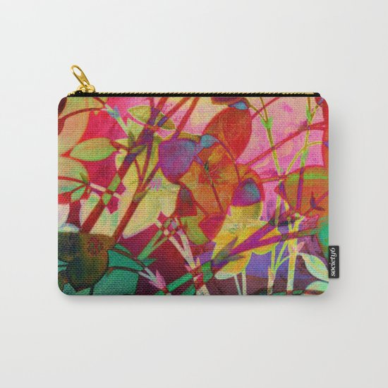 wild floral Carry-All Pouch