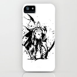 Togata Mirio Ink Splatter iPhone Case