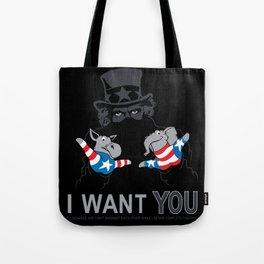 Uncle Scam Tote Bag