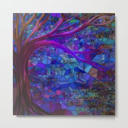 Mystery In The Forest Metal Print