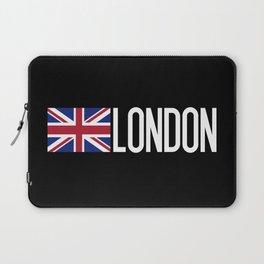 Britain: British Flag & London Laptop Sleeve