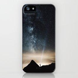 Light and Magic 002 // Shine a Light iPhone Case