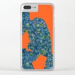 cacti loves van gogh3 Clear iPhone Case