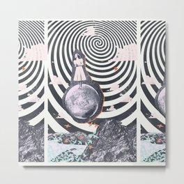 SPACE SINGER Metal Print