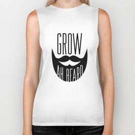 Grow Ah Beard Biker Tank