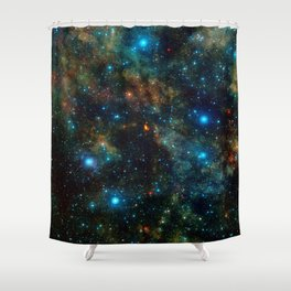 Star Formation Shower Curtain