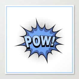 POW! Comic Book Canvas Print