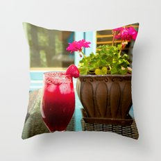 Summer is.... Happiness Throw Pillow