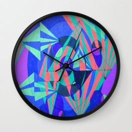 Hyperspace Wall Clock
