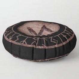Ehwaz - Elder Futhark rune Floor Pillow