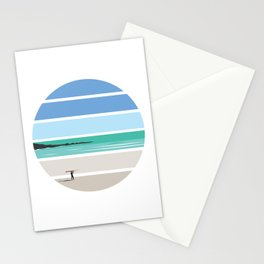 Tiree Longboarder Stationery Cards