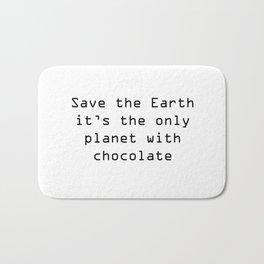Save the Earth Bath Mat