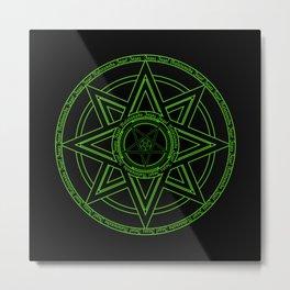 Zazaz Zazas Nasatanada Zazas (green acid edit) Metal Print
