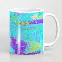 fringe Mugs featuring Fringe Benefits by Neelie