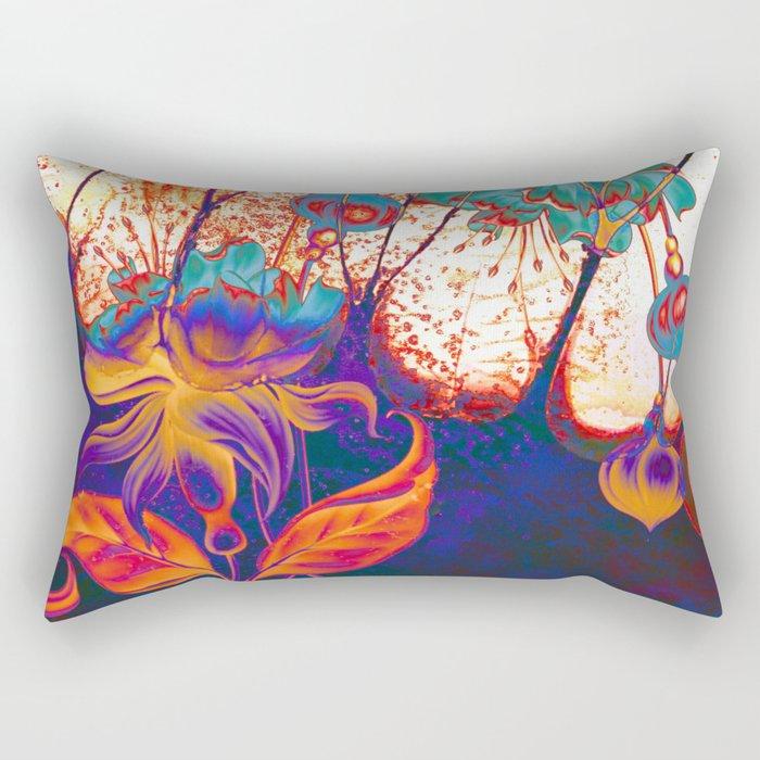 pop fuchsia Rectangular Pillow