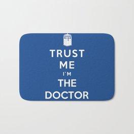 Trust Me I`m The Doctor Bath Mat