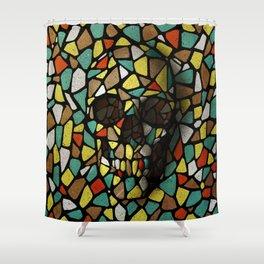 Skull X Shower Curtain