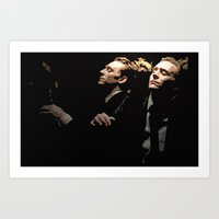 tom hiddleston Art Prints featuring Tom Hiddleston by Huang Yan