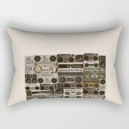 Wall Of Sound Rectangular Pillow