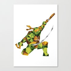 Nunchaku Turtle Canvas Print