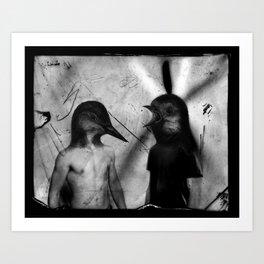 Mercredi 2 Art Print