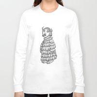 siren Long Sleeve T-shirts featuring siren  by Hana moine