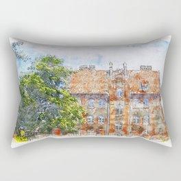 Old Home Rectangular Pillow