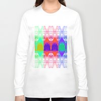 milan Long Sleeve T-shirts featuring Milan Multi by Iconic Arts