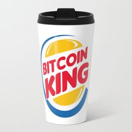 Bitcoin King Travel Mug