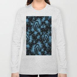denim paisley Long Sleeve T-shirt