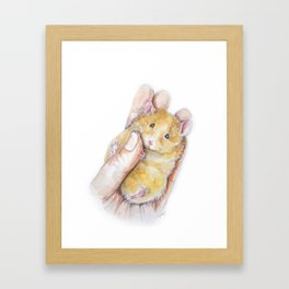 Peanut Framed Art Print