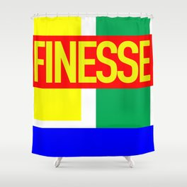 Finesse New Jack Shower Curtain