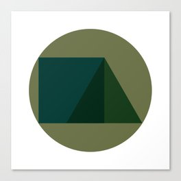 #249 Triad – Geometry Daily Canvas Print