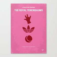 No320 My The Royal Tenenbaums minimal movie poster Canvas Print