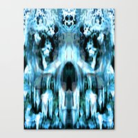 jack frost Canvas Prints featuring JACK FROST by Laertis Art