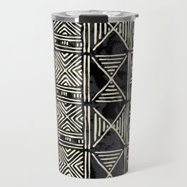 Tribal mud cloth pattern Travel Mug