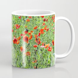 Sea of Poppies Coffee Mug