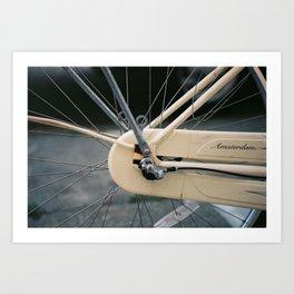 Amsterdam Bike Art Print