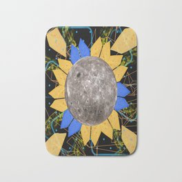 Slices of Moon Cheese Bath Mat