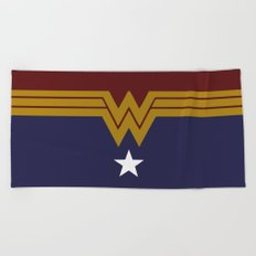 Wonder DC, Woman Beach Towel
