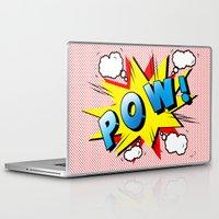 comics Laptop & iPad Skins featuring comics  by mark ashkenazi