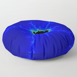 MiniMandel Wide 2 Mandelbrot Fractal Floor Pillow