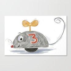 Wheel Mouse Canvas Print